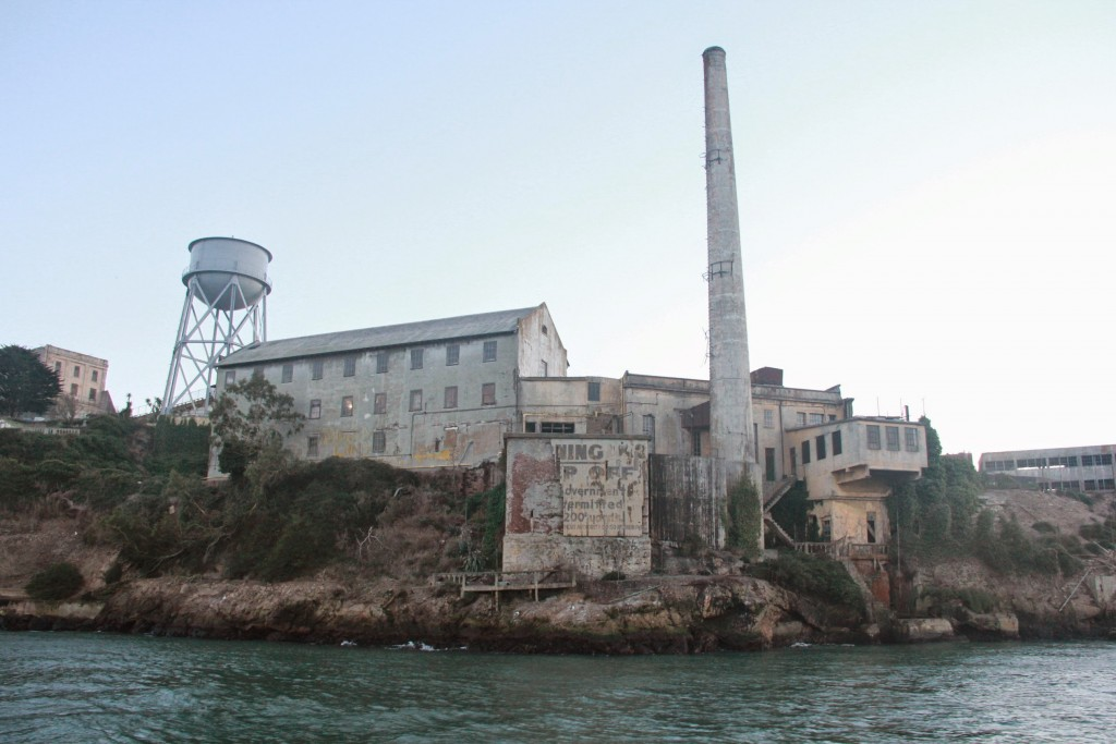 The Rock power plant and water tower
