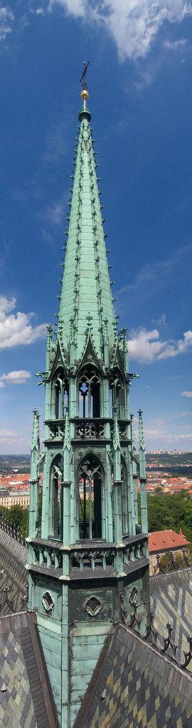 1-Prague Castle Spire